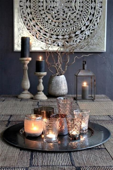candle centerpieces for dining room table the candle filled plate would make a great center piece