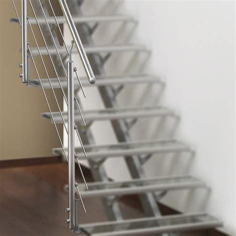 garde corps escalier interieur leroy merlin rambarde escatwin obapi rolo avec courante en aluminium poli leroy merlin