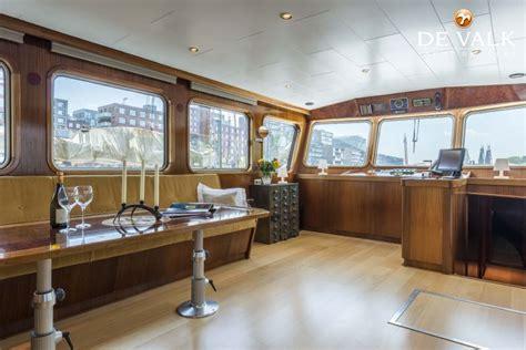 Te Koop Woonschip by Woonschip 23 M Motorboot Te Koop Jachtmakelaar De Valk