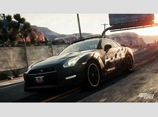 NFS Rivals Nissan GTR Black Edition as a cop Need For