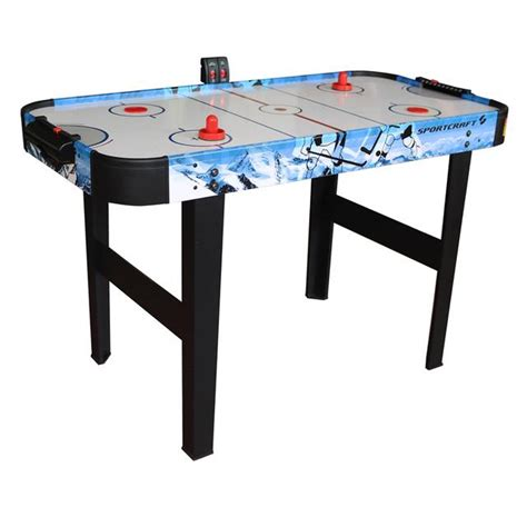 sears sportcraft air hockey table sportcraft 48 quot air hockey table with electronic scorer