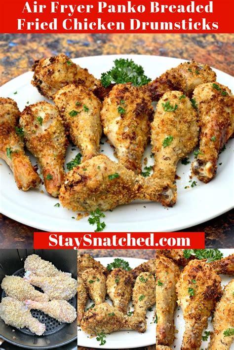chicken fryer air legs drumsticks panko