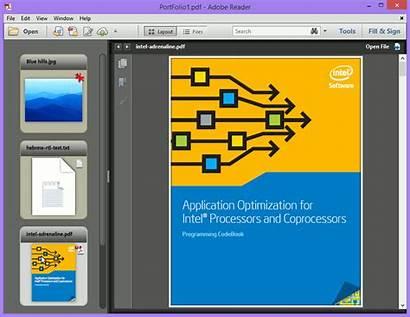 Portfolio Pdf Adobe Reader Java Dc Descargar