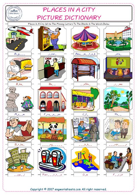 ordinal numbers esl printable picture dictionary