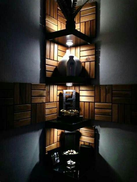 pallet lighted corner shelves pallets de madera muebles