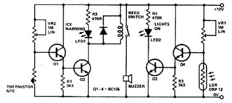 Light Sensor Circuit Page Sensors Detectors Circuits