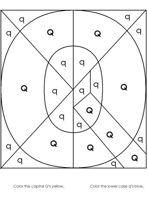 8 Best Images Of Find The Letter Q Worksheets  Letter Q Coloring Worksheet, Preschool Letter Q