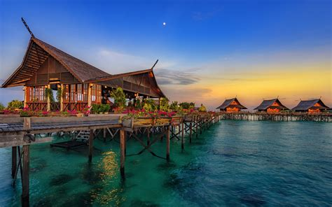 wallpapers hainan island  hotel bungalow