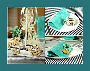 Maritime Deko Ideen : maritime tischdeko deko ideen ~ Markanthonyermac.com Haus und Dekorationen