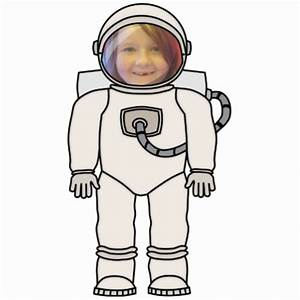 Astronaut Template - ClipArt Best