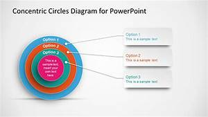 Concentric Circles Diagram Template For Powerpoint