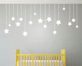 aliexpress com buy 17pcs hanging stars wall stickers for