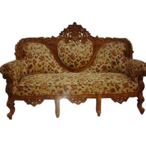 multicolor royal wooden carved modern sofa takai id