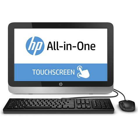 hp pc bureau hp all in one 22 2124nf pc de bureau hp sur ldlc