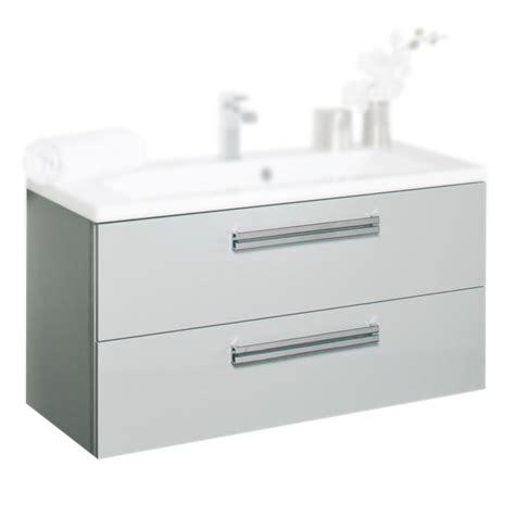 caisson cuisine 19mm meuble sous vasque alterna seducta c1000622 90cm 2 tiroirs