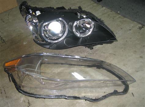 replacing e60 headlight lens 5series net forums