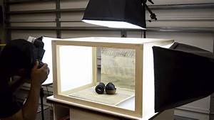 How to construct the world's most well built and best looking DIY light box - DIY Photography