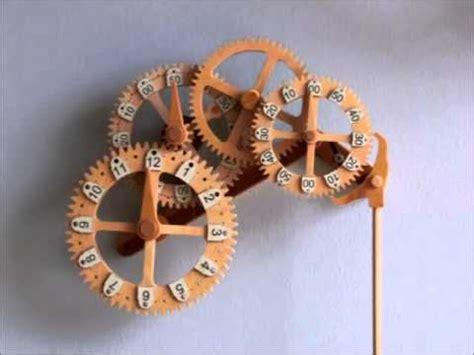 wooden gear clock genesis design clayton boyer s wooden gear clock designs playlist