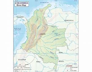 Buy Colombia River Map online