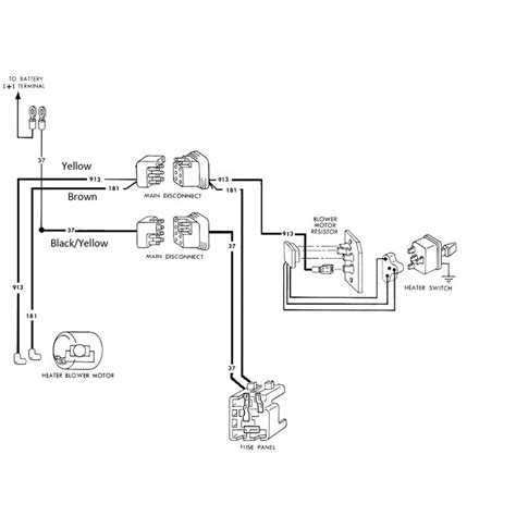 1996 Ford Mustang Blower Resistor Wiring Diagram by 1965 Ford Mustang Electrical Schematics