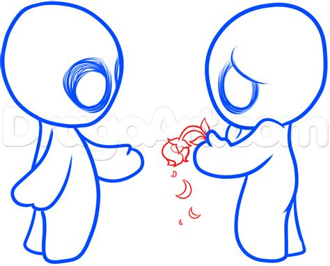 How To Draw Forbidden Love, Step By Step, Concept Art