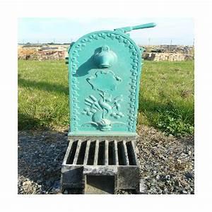 Fontaine De Jardin En Fonte : fontaine de jardin en fonte r f od014 antiquit aubry ~ Melissatoandfro.com Idées de Décoration