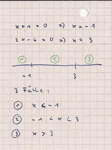 Bedarf Berechnen : ungleichungen betragsungleichung berechnen x 1 2x 6 10 mathelounge ~ Themetempest.com Abrechnung