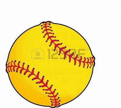 Softball Ball Clipart Yellow Clipartpanda Baseball Fast