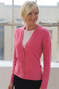 Women's clubhouse cardigan sweater, Promotional Products, Price/each - Dark Pink, XLG
