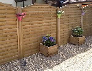 Panneau De Jardin Pas Cher : panneau bois jardin cloture en bois pas cher chromeleon ~ Premium-room.com Idées de Décoration