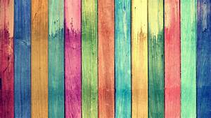Download, Wallpaper, 3840x2160, Rainbow, Colors, Wood, Board