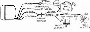 Diagram  How To Install A Tachometer Wiring Diagram Full