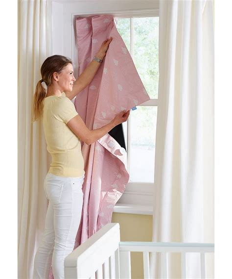 Blackout Blinds Baby Nursery by Gro Anywhere Blackout Blind Pink Exclusive To Mothercare