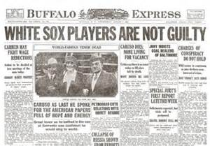 Image result for Eight White Sox players were acquitted of throwing the 1919 World Series.