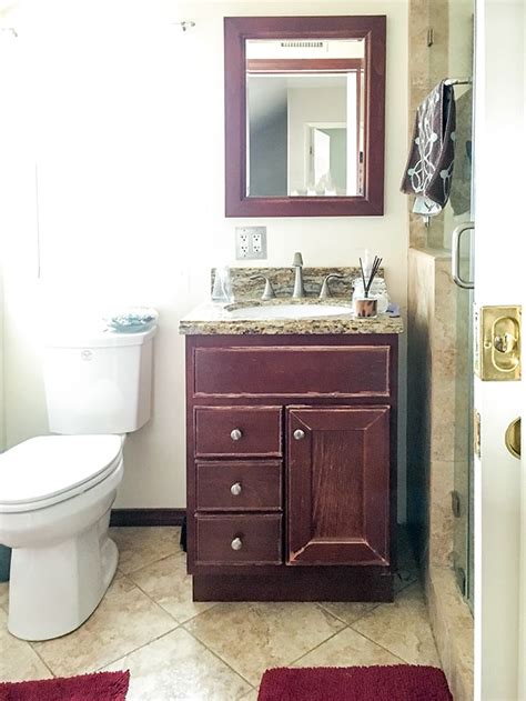 Small Bathroom Remodel  Ideas On A Budget  Anika's Diy Life