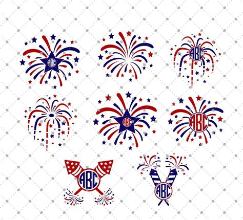 Download blank vector map of usa. 4th of July Fireworks SVG Cut Files   4th of July SVG cut ...