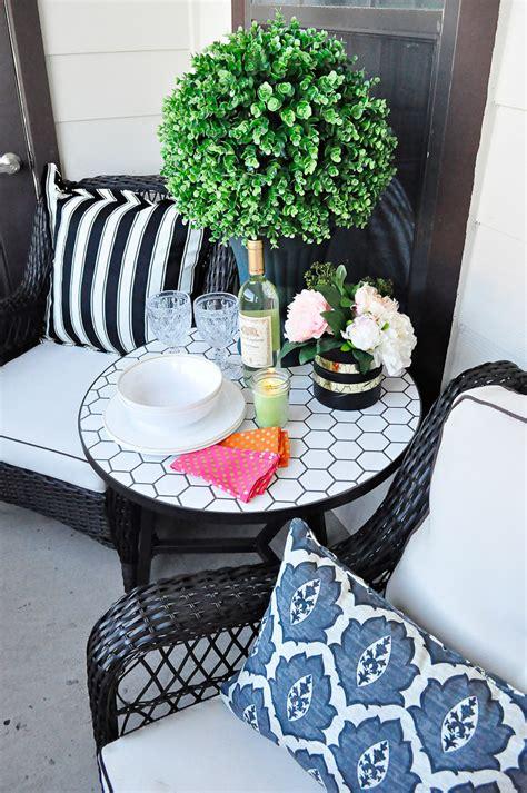 decorating an apartment patio apartment patio outdoor decor ideas monica wants it