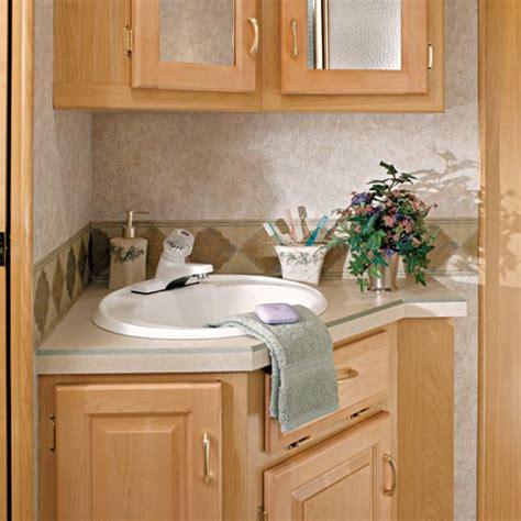 laminate countertops for bathroom vanities 2005 newmar american fifth wheel rvweb
