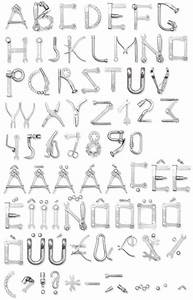 tools font alphabet handmadefontcom alphabits With construction alphabet letters
