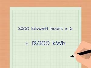 Kwp Berechnen : 3 formas de calcular los kilovatios por hora wikihow ~ Themetempest.com Abrechnung