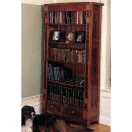 woodworkers journal heirloom bookcase plan rockler