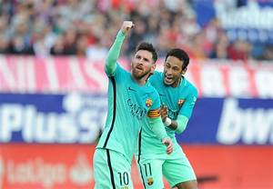 Barcelona's top creator: Neymar is level as Messi and ...