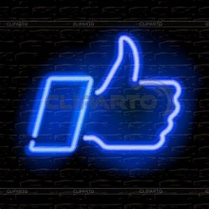 Neon Stock s and Vektor EPS Clipart