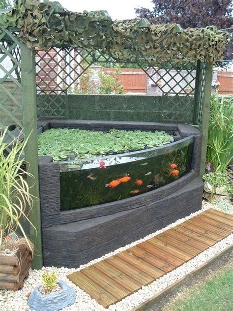 Outdoor Aquarium  Backyard Ideas  Pinterest Garten