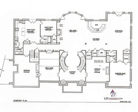 custom plans custom home 7000 sqft the model 5 vp builds