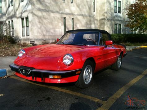 1985 alfa romeo spider veloce related infomation