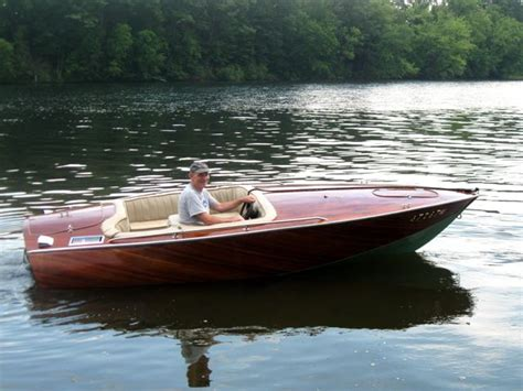 power outboard boats page  woodenboat magazine