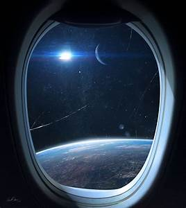 View from a spaceship window Wallpaper | Wide Wallpaper ...