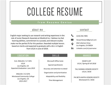 Resume Education Section by Education Section Resume Writing Guide Resume Genius