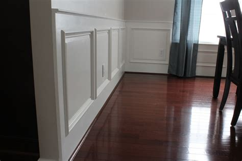 How To Install Raised Panel Wainscoting by Our Home From Scratch